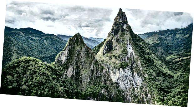Fura és Tena hegyek Kolumbiában
