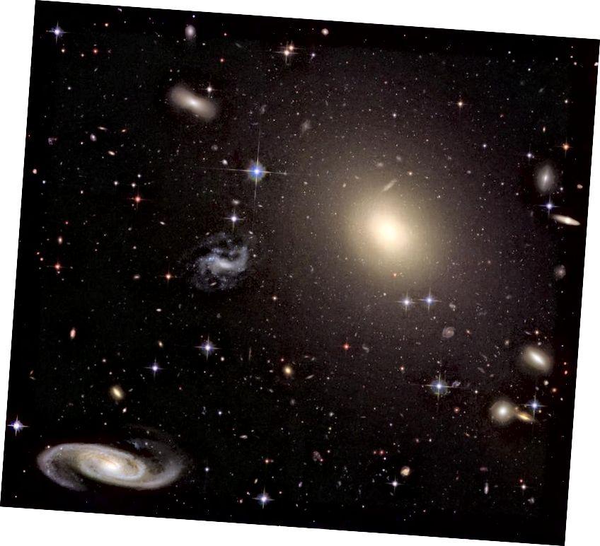 Vũ trụ là một nơi tuyệt vời, và ngày nay nó trở thành một thứ rất đáng để học hỏi với khả năng tốt nhất của chúng ta. Tín dụng hình ảnh: NASA, ESA, Nhóm di sản Hubble (STScI / AURA); J. Blakeslee.