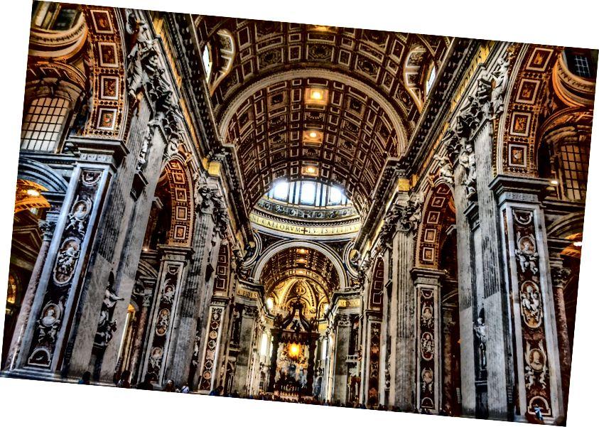 Bazilika sv. Petra u Vatikanu - Gabriel Iosa