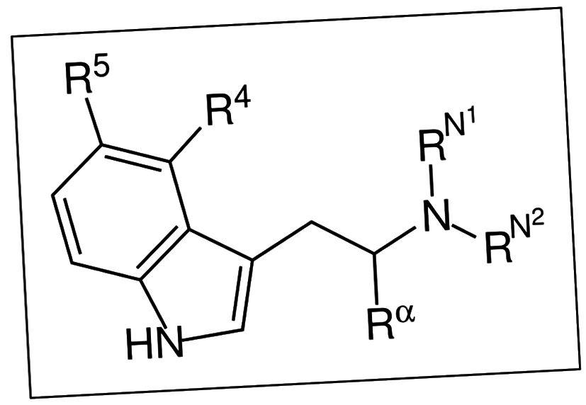 Figur 4. Den substituerede tryptamin