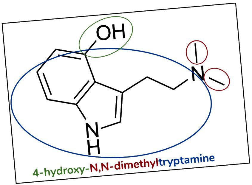 Figur 8. Psilocin