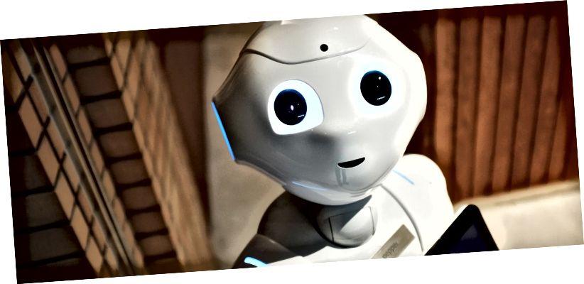 Ki állíthatja ki a legtöbbet a robotok meneteléséből? Kép: Fotó: Alex Knight az Unsplash-en
