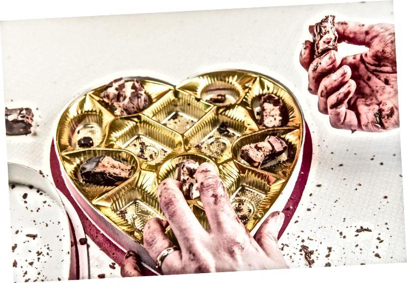 """Es stellt sich heraus, dass die neue """"Schokoladendiät"""" nicht so effektiv ist, wie wir zuerst dachten."""
