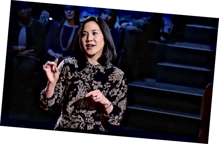 Professor Angela Duckworth - ekraanipilt tema Tedtalkist