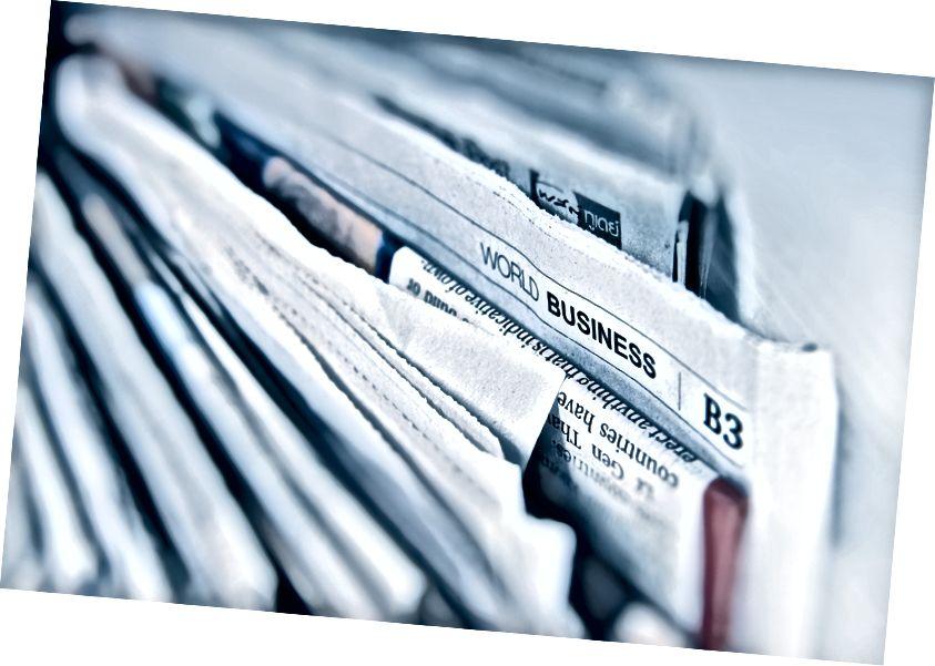 Leider verkaufen wahrheitsgemäße Schlagzeilen nicht so viele Zeitungen