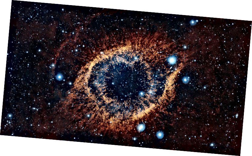 Maglica Helix, jedna od najbližih planetarnih maglica Zemlji (NASA)