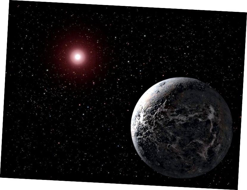 Зорка з іншапланетнай цывілізацыяй на арбіце можа мець свае аптычныя сігналы, абкладзеныя разумным сігналам. Ці маглі б мы гэта выявіць, калі так? Малюнак: НАСА.