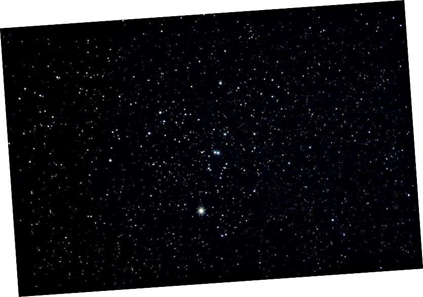 Зорны кластар Гейад, бліжэйшы да Сонца адкрыты зорны кластар. Крэдыт на малюнак: Тод Вэнс пад агульнай ліцэнзіяй cc-by-2.5.