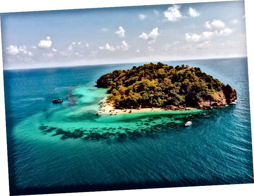 Ispada da pretraga 'preživjelog' na web lokacijama s fotografijama daje mnoštvo rezultata za otoke. Izvor: Pexels