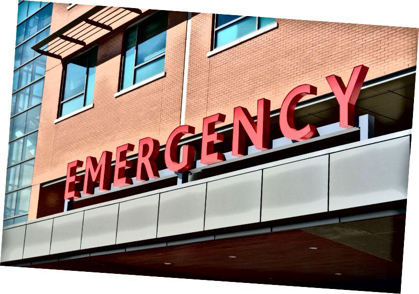 Teško je doći do ljekarne izvan bolnice ako nikad niste otišli. Izvor: Pexels