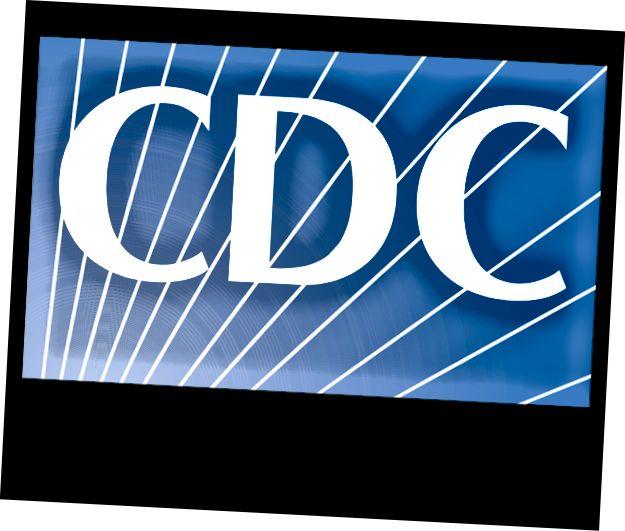 CDC skal HELT have et køligere logo med folk i disse biofarlige dragter eller som noget, der skildrer at redde mennesker fra sygdomme.