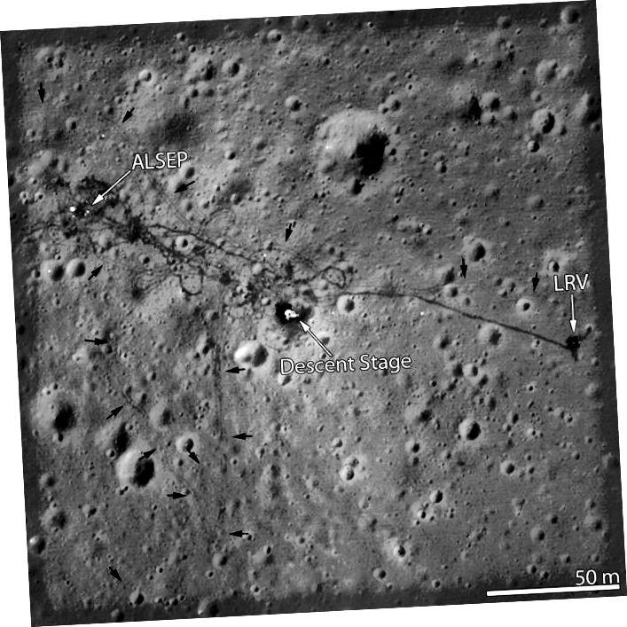 """""""Dromchla gealaí"""" - Creidmheas: NASA"""