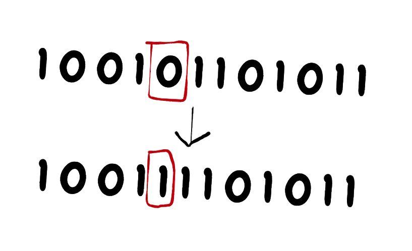Beispiel für eine Bitstring-Mutation