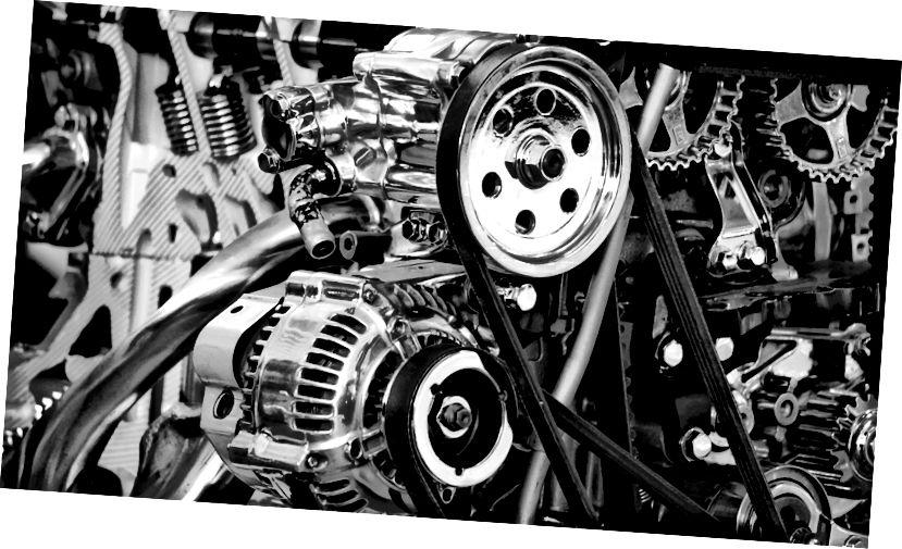 Használ vezetékes szalagot autómotorokhoz? Őszintén nem tudom, hogy ez szörnyű analógia lehet