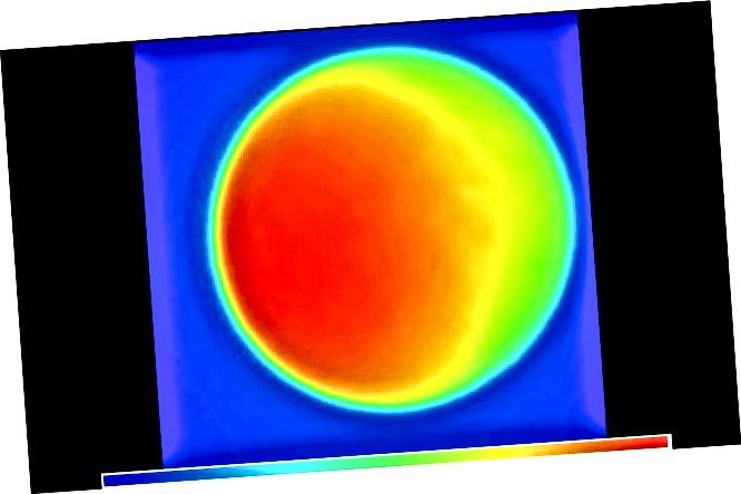 Siin on Kuu pilt, mis on tuletatud raadiolainepikkusest. Kas see ei näe täpselt välja nagu foto, eks? Krediit: NRAO VLA