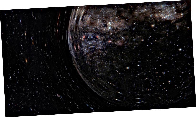 "Fós ón scannán ""Interstellar""."