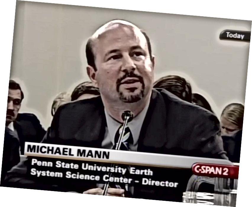 Mann ved et kongresudseende i 2006. Foto med tilladelse fra C-Span
