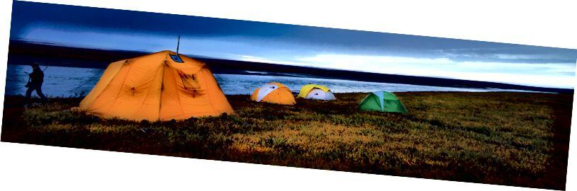 Часовая база аперацый для рыбалоўства ў Арктыцы, Нацыянальная прытулак для дзікай прыроды (так, рыбы ёсць!)  USFWS / Катрына Лібіч