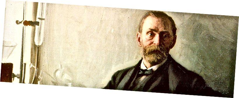 Alfred Nobel-An fear taobh thiar den Duais Nobel. Foinse: Duais Nobel