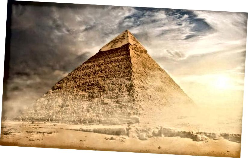 Den store pyramide i Giza