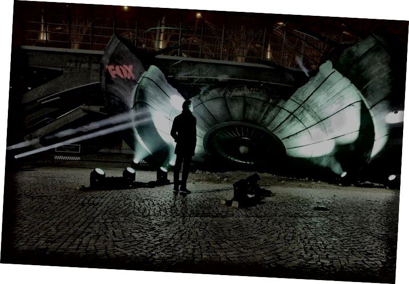 Քանդված X-Files խորթ տիեզերանավը, որն օգտագործվում է որպես ցուցահանդեսի 10-րդ սեզոնի համար որպես գովազդ, ներկայացնում է մեր հույսերն ու վախերը `կապված խելացի խորթ տեսակների հետ շփման հետ: Պատկերի վարկ. X-Files / Fox / Rodrigo Carvalho.