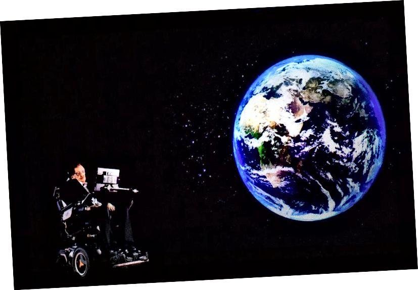 Ο διάσημος αστροφυσικός Stephen Hawking φοβάται επίσης εξαιρετικά τους εξωγήινους.