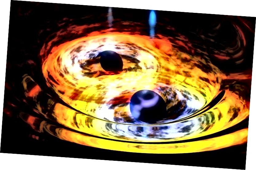 Iako bi crne rupe trebale imati nakupljene diskove, a materija koja pada s njih, čini se da nećete moći pobjeći iz horizonta događaja nakon što pređete preko njih. Može li to nešto promijeniti? Bonus slike: NASA / Dana Berry (Skyworks Digital).