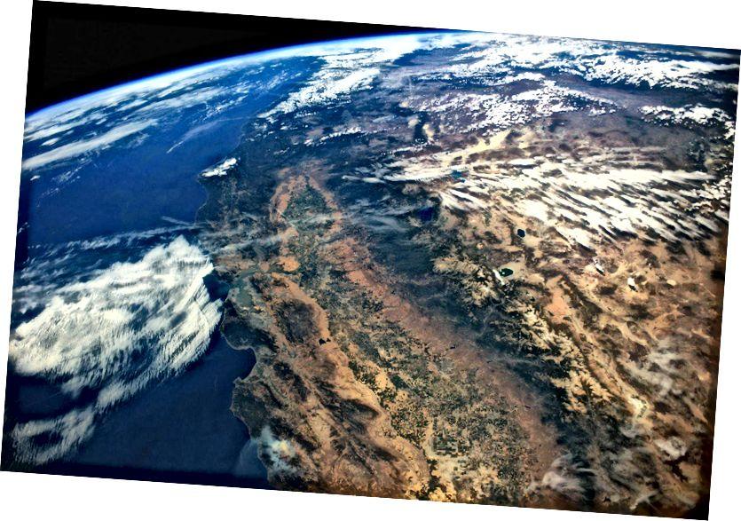 Kalifornijska suha Središnja dolina tijekom duže suše ranije ovog desetljeća. Foto: Stuart Rankin