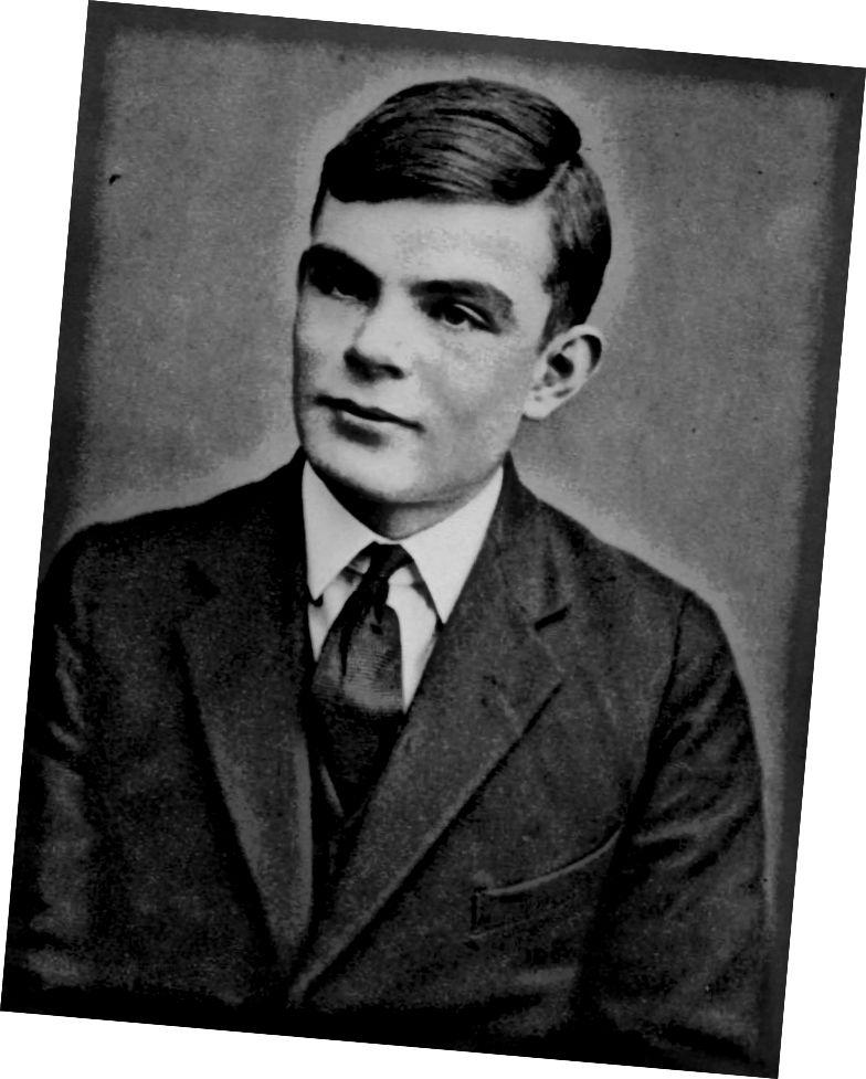 Alan Turing und Claude Shannon tranken Tee während Turings Dienstreise in den Vereinigten Staaten. (Bildnachweis: Wikimedia Commons)