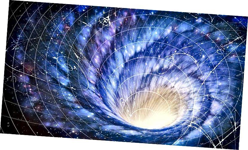 Je li moguće putovanje vremenom? A ako je tako, kako bi to izgledalo? Kreditna slika: Wikimedia Commons korisnik Kjordand.