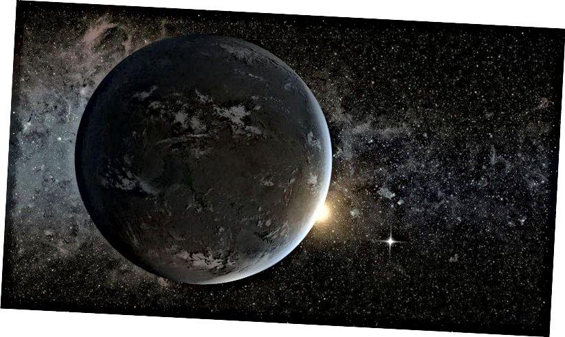 Umjetnički prikaz potencijalno obitavajuće egzoplanete koja kruži oko zvijezde nalik suncu. Kad je riječ o životu izvan Zemlje, tek moramo otkriti svoj prvi naseljeni svijet. (NASA Ames / JPL-Caltech)