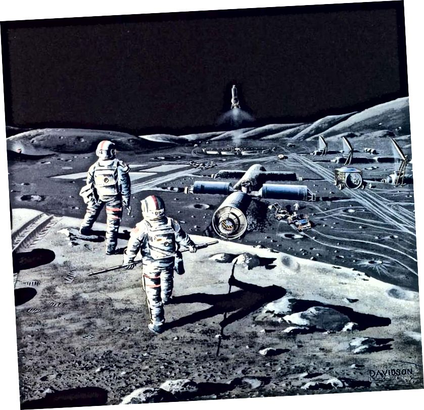 Kad se inteligencija, upotreba alata i radoznalost spoje u jednu vrstu, možda međuzvjezdane ambicije postanu neizbježne. Ali ovo je pretpostavka koja nije podržana u znanosti, i moramo biti oprezni (i sumnjivi) u pogledu bilo kojih takvih zaključaka koje ćemo iz njih izvući. (Dennis Davidson za http://www.nss.org/)