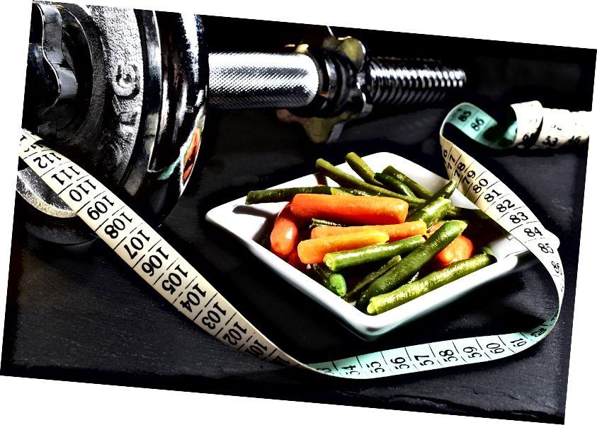 Вегетарыянства і практыкаванні, выйгрышная камбінацыя! (Фота: zuzyusa / Pixabay)