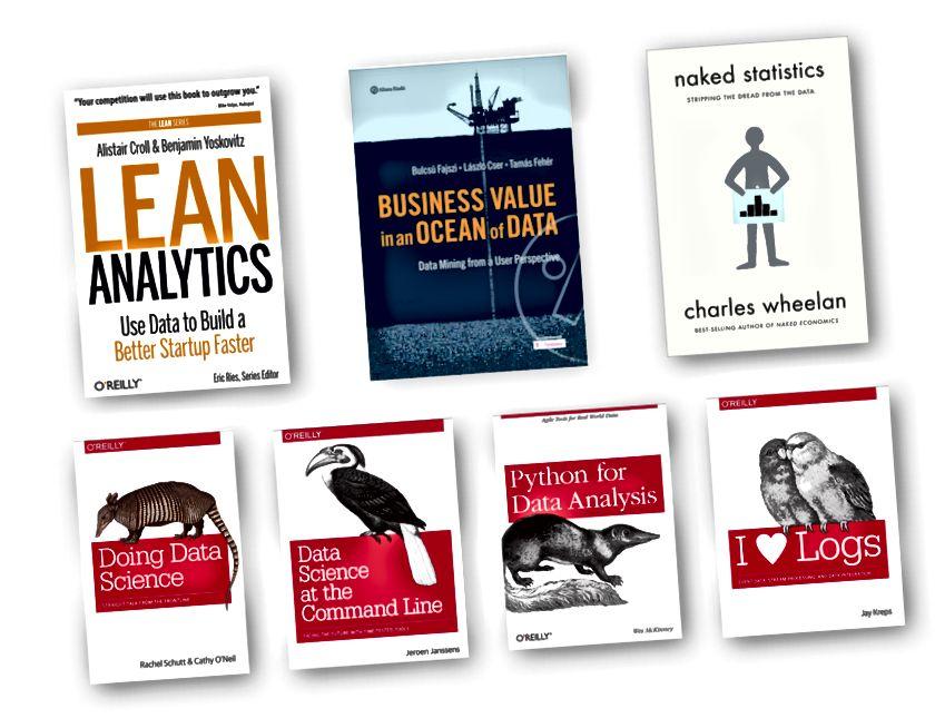 Top 7 knjiga s podacima koje preporučujem