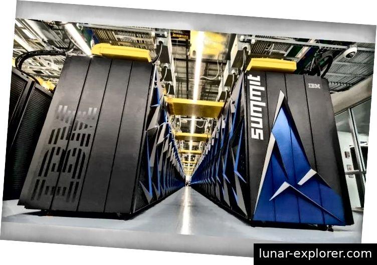 IBM Watson erhält mit Summit Supercomputer einen bulligen jüngeren Bruder