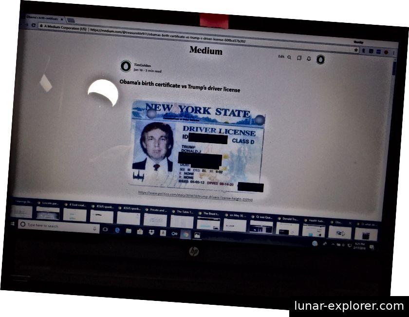 https://medium.com/@treasurelife911/obamas-birth-certificate-vs-trump-s-driver-license-60f8cd37b392