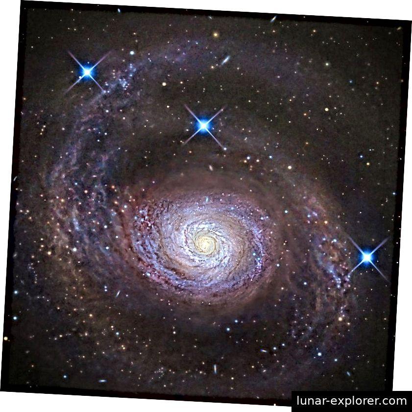 Die Galaxie Messier 94 ist groß, weitreichend und wunderschön und ist ein dominierendes Mitglied einer locker gebundenen Gruppe, die nach ihr benannt wurde. Die Tatsache, dass sich das Universum weder zu schnell ausbreitet, um Sterne und Galaxien zu bilden, noch neu zusammengelegt werden kann, bevor diese Entitäten entstehen könnten, ist eine bemerkenswerte, aber unerklärliche Tatsache in Bezug auf die Realität. (R JAY GABANY (BLACKBIRD OBS.))