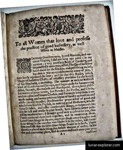 Naslovnica. Treasurie skrivenih tajni, John Partridge, 1573.