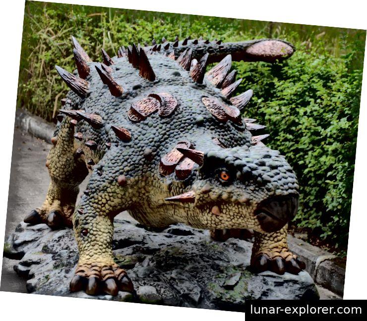 Animatronischer Dinosaurier