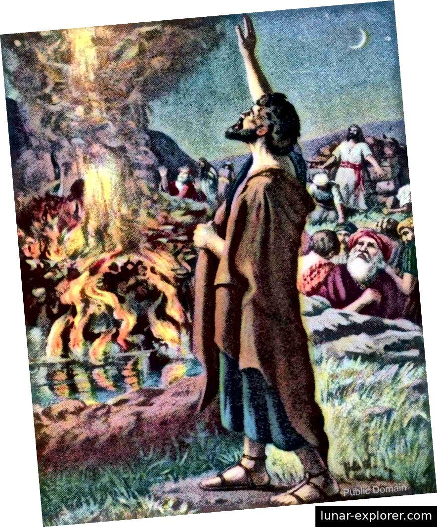 Elia und die Priester von Baal