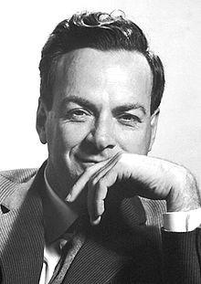 Der amerikanische Physiker Richard Feynman: Neben seiner Arbeit in der theoretischen Physik wurde Feynman Pionierarbeit geleistet und der Begriff Nanotechnologie eingeführt