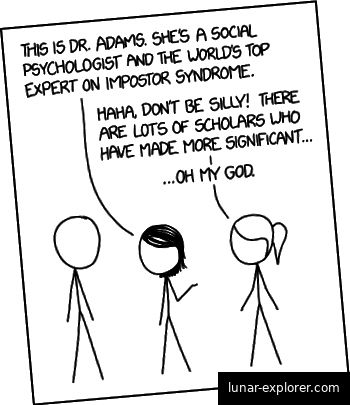 Imposter-Syndrom nach xkcd: CC BY-NC 2.5