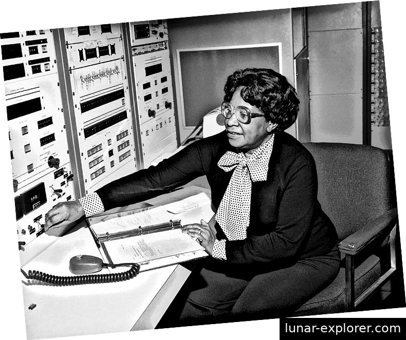 Mary Jackson arbeitet bei der NASA. (Foto: NASA Langley Research Center.)