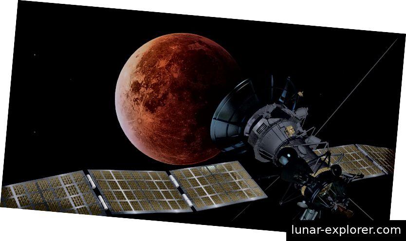 Das dritte Zeitalter unseres Verständnisses des Mondes begann mit der Entwicklung fortschrittlicher Raumfahrzeuge zur Erforschung unseres planetarischen Begleiters. Bildnachweis: PIRO4D / Pixabay