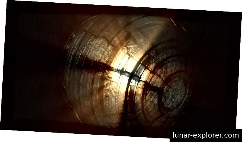 Die obige Interpretation des Künstlers zeigt, wie eine Dyson-Kugel Energie gewinnt. Um Tabbys Stern nach unseren Beobachtungen abzudunkeln, müsste diese fremde Struktur mindestens halb so groß sein wie der Stern selbst. Forscher der Princeton University suchten sogar nach Signaturen von Lasern, die von Tabbys Stern stammen, und schlugen vor, dass eine Zivilisation versuchen könnte, mit der Lasertechnologie zu kommunizieren. Bild von NOVA.