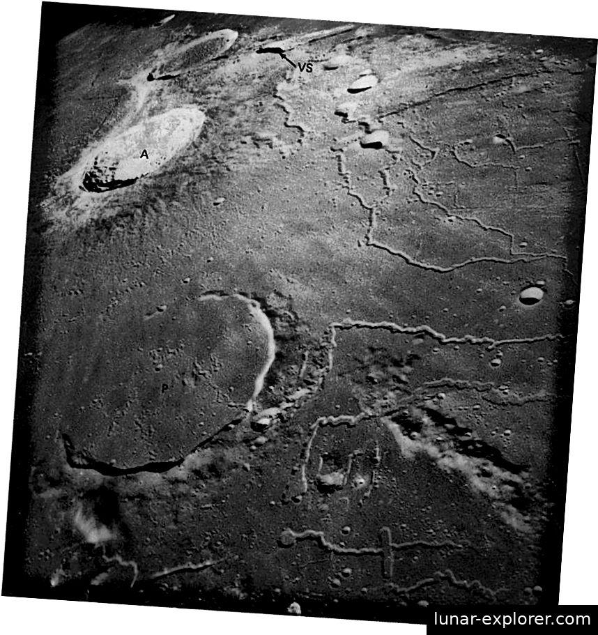Das 43 Kilometer breite Aristarchus-Plateau gilt als Hot Spot für Ereignisse der transienten Mondphänomene. Diese Region ist im oberen Teil dieses Fotos zu sehen. Bildnachweis: NASA