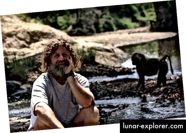 Dr. Robert Sapolsky auf dem Gebiet