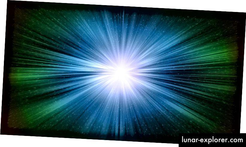 يبدو أن الضوء ، في فراغ ، يتحرك دائمًا بنفس السرعة - سرعة الضوء - بغض النظر عن سرعة المراقب. صورة الائتمان: مستخدم pixabay Melmak.
