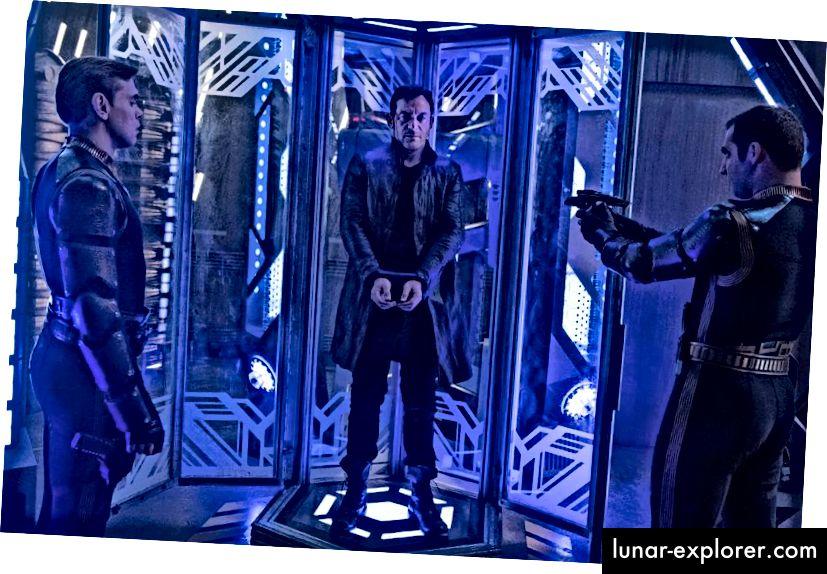 Lorca, koja je sada otkrivena kao zrcalo Universe Lorca, pokretala je događaje u svemu što se dogodilo. Veliko je pitanje, što slijedi! Bonus slike: Ben Mark Holzberg / CBS © 2017 CBS Interactive.