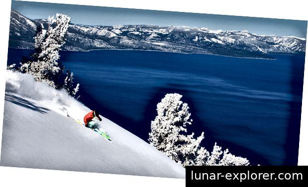 Skijanje na jezeru Tahoe